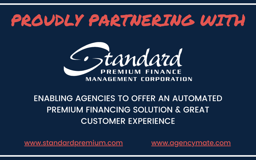 AGENCYMATE Proudly Partners with Standard Premium Finance